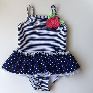 Girl's size 3T one-piece swimsuit